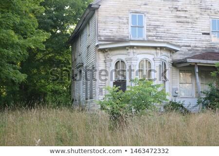 Window in Deteriorating House Stock photo © rhamm