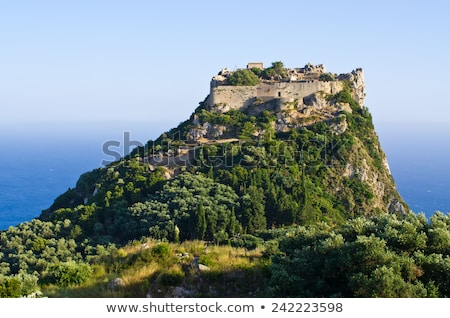 Angelokastro, Corfu, Palaiokastritsa stock photo © slunicko
