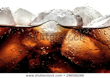 cola · alimentos · fiesta · hielo · taza - foto stock © oleksandro
