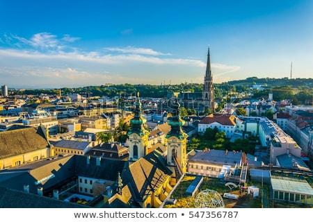Ursuline Church Linz Stock photo © w20er