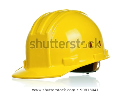 Hard Hat with clipping path Stock photo © shutswis
