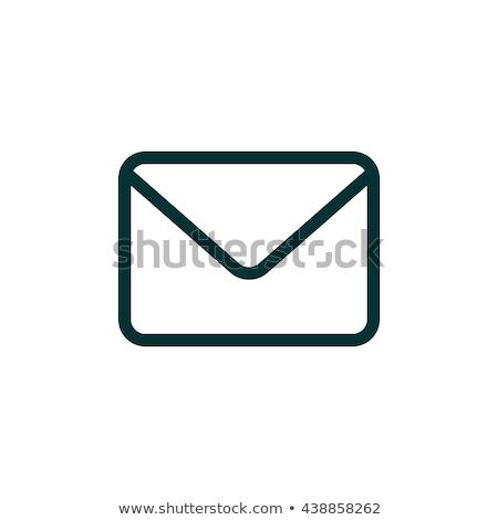 Inviare verde vettore icona design digitale Foto d'archivio © rizwanali3d