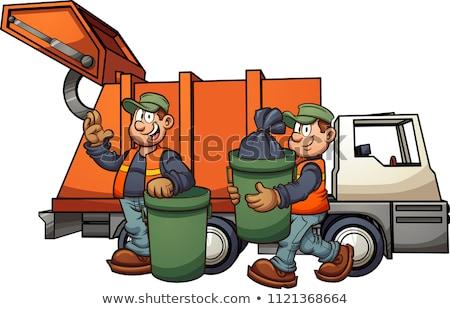мусора · грузовика · мусор · Recycle · отходов - Сток-фото © bluering