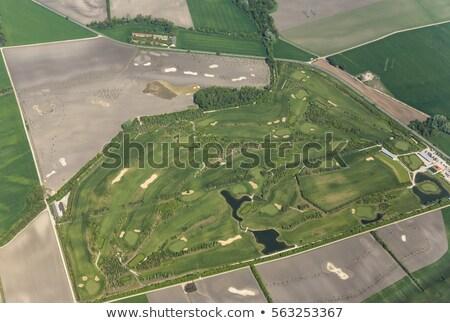 Légi golf terjedelem Bécs üres Stock fotó © meinzahn