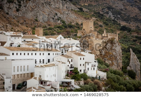 zuheros in the mountains of andalusia stock photo © compuinfoto
