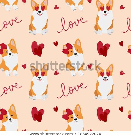 Enyém Valentin nap kreatív valentin nap fotó szívek Stock fotó © Fisher