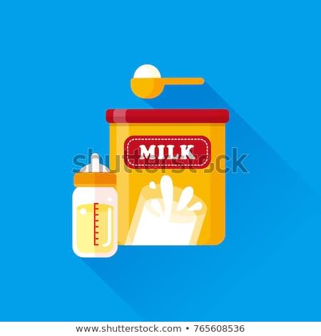 vol · fles · vector · icon · illustratie · stijl - stockfoto © ahasoft