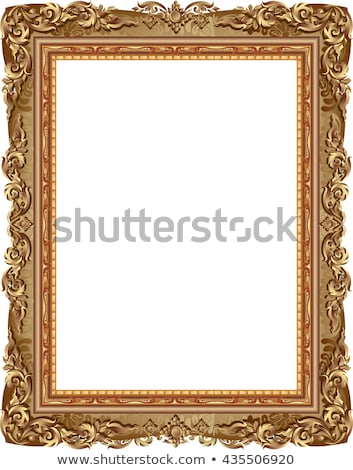 Old Brown Picture Frame Stock photo © adamr