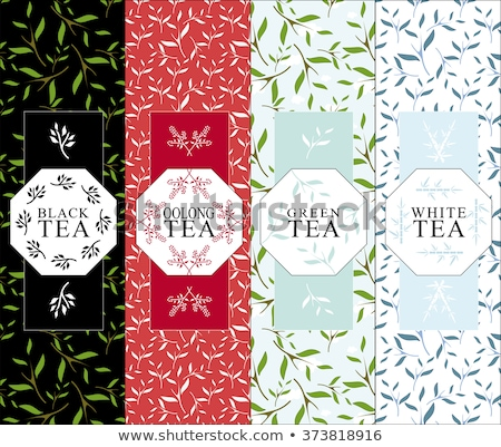black green and red tea in box stock photo © karandaev