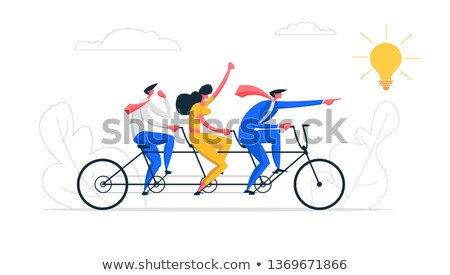Entrepreneurship concept vector illustration. Stock photo © RAStudio