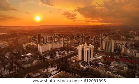 家 フラグ モルドバ 白 住宅 ストックフォト © MikhailMishchenko