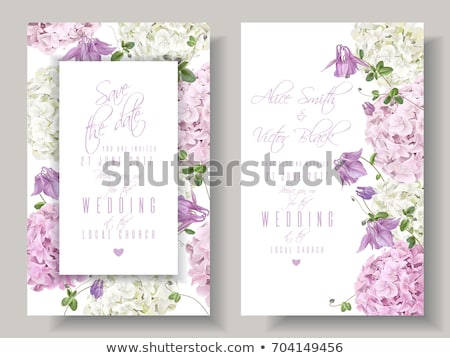 весны карт сирень конверт цветы Сток-фото © Kotenko