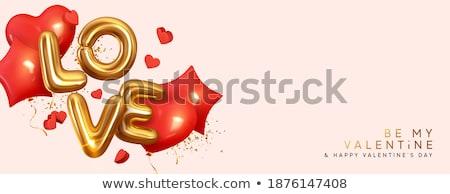 3d render of golden text happy mother's day  Stock photo © nasirkhan