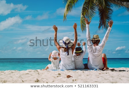 Family travels in summer Stock photo © ConceptCafe