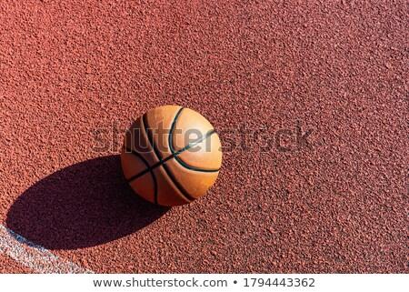 Pelota jugando baloncesto deportes campo estadio Foto stock © pressmaster