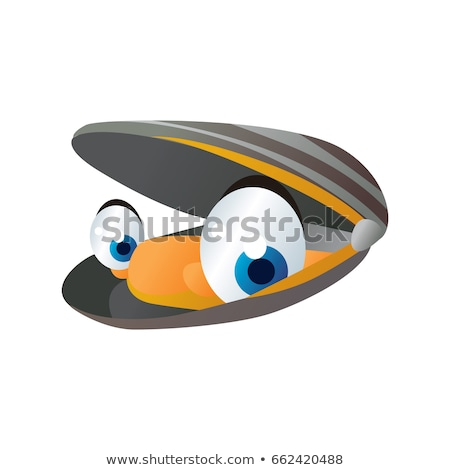 Cartoon Mussel Stock photo © cidepix