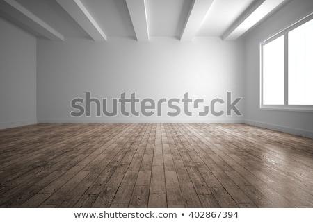пустой комнате свет коричневый стены 3D Сток-фото © sedatseven