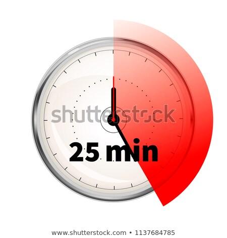 Realista vinte cinco cronômetro Foto stock © evgeny89
