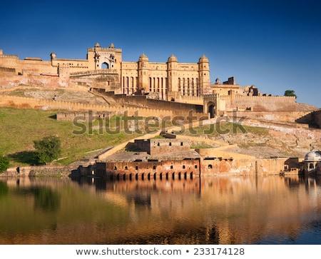 Panorama of Amer (Amber) fort, Rajasthan, India Stock photo © dmitry_rukhlenko