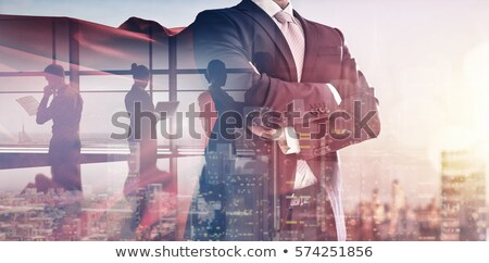 Business Flucht Corporate Erfolg Idee Hindernis Stock foto © Lightsource