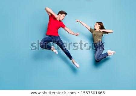 two fly fight man Stock photo © Paha_L