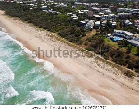 Plaj Avustralya mavi gökyüzü gün küçük tropikal Stok fotoğraf © mroz