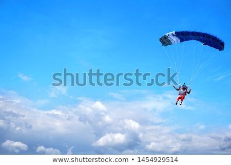 Paraşüt soyut renk spor uzay gökyüzü Stok fotoğraf © IstONE_hun