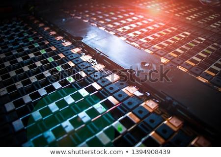 Battery cells Stock photo © jakatics