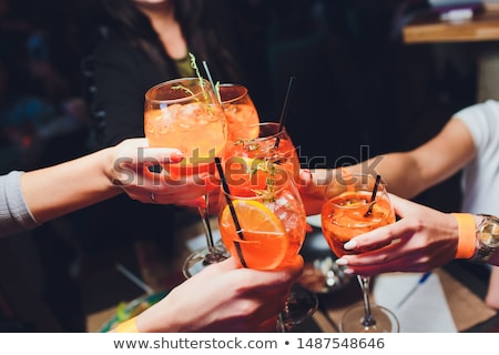 Aperitif with friends Stock photo © photography33