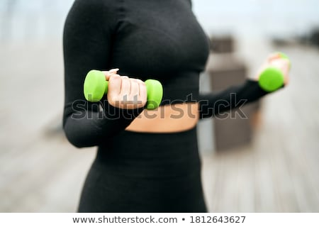 Hand Weights Stock photo © kitch