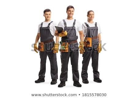 Portrait of a craftsman Stock photo © photography33