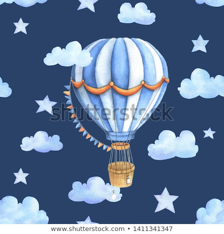 Colorful Balloons seamless pattern stock photo © juliakuz