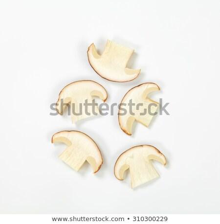 lezzetli · bir · mantar · türü · mantar · yenilebilir · kuruş - stok fotoğraf © smuki
