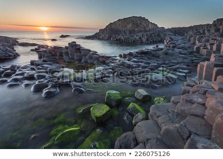 równoważenie · gigant · naturalnych · rock · kamień - zdjęcia stock © julietphotography