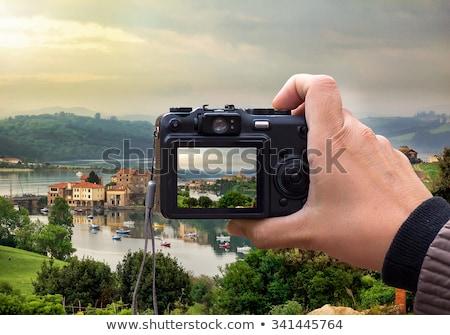 digital point and shoot stock photo © arenacreative