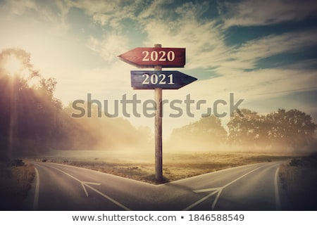 Stock photo: Guidepost