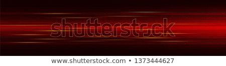 Rosso interfaccia nero argento drop ombra Foto d'archivio © nicemonkey