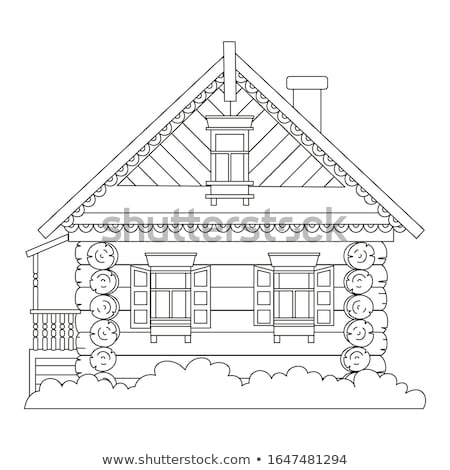 traditional wooden house stock photo © elwynn