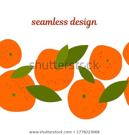 mandarin or tangerine Stock photo © M-studio