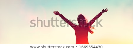arms up Stock photo © jayfish