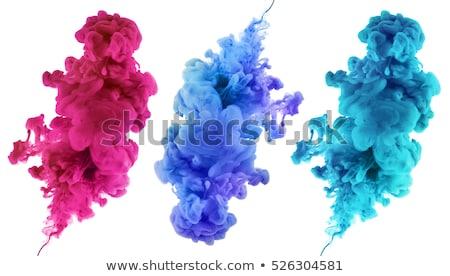 Soyut renkli bulut etiketler vektör iş Stok fotoğraf © burakowski