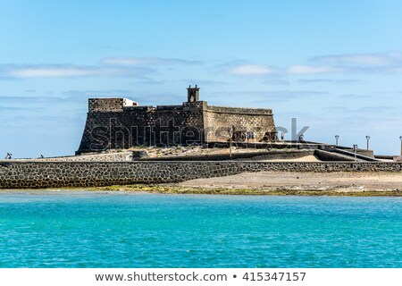 castle Castillo de San Gabriel in Arrecife, Lanzarote, Canary Is Stock photo © meinzahn