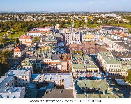 町役場 · ポーランド · アーキテクチャ · 住宅 · 歴史 · 町 - ストックフォト © phbcz