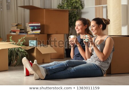 Stock photo: Resting lady