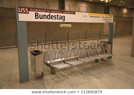 метро · Берлин · ночь · поезд · путешествия · скорости - Сток-фото © meinzahn