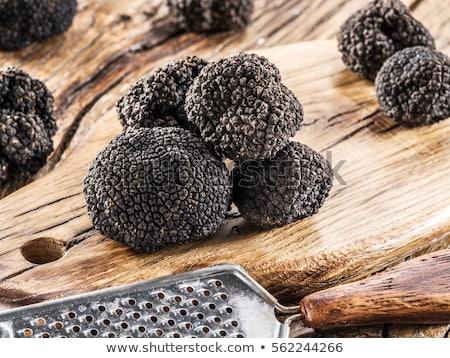 delicacy mushroom black truffle  Stock photo © sarymsakov