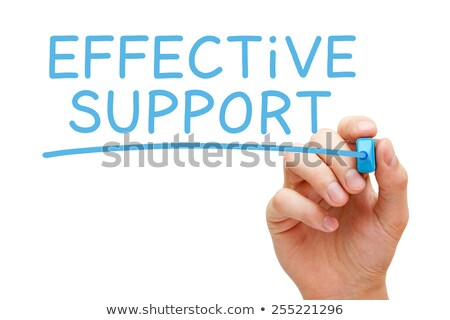 Effective Support Blue Marker Stock photo © ivelin