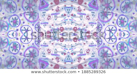 fractal illustration background bright carpet with geometric sta Stock photo © yurkina