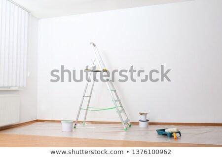 fırçalamak · beyaz · ahşap · doku · uzay - stok fotoğraf © spectral