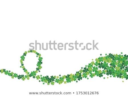 marco · verde · flores · estrellas · primavera - foto stock © alphababy